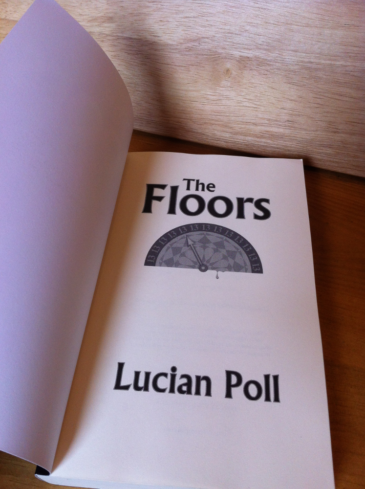 The Floors - Proof Copy - Title Page