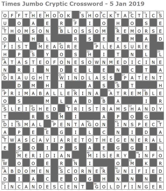 playing around crossword