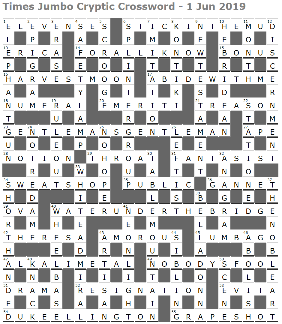 Crossword Dotty The Most Cryptic Question Of All Is Why Their Creator Never Made A Penny Daily Mail Online